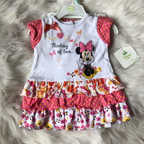 3/$20 Disney | Baby Girl Minnie Mouse Set 3-6M